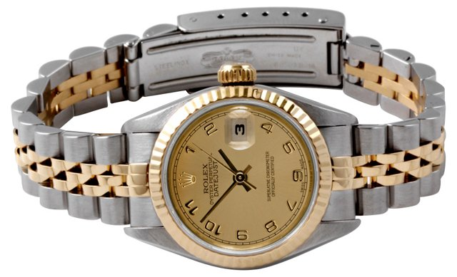 Rolex Ladies Datejust Champagne Dial