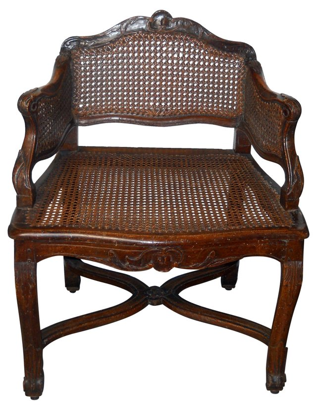 19th-C. French Provincial Chair