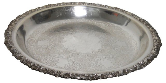 Silverplate English Tray