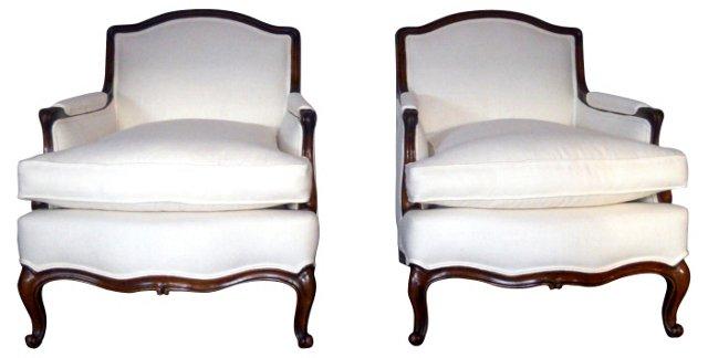 Louis XV-Style    Bergères, Pair