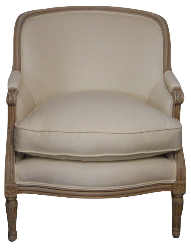 Louis XVI-Style  Club Chair