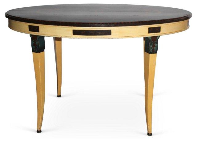 Oval  Italian   Table