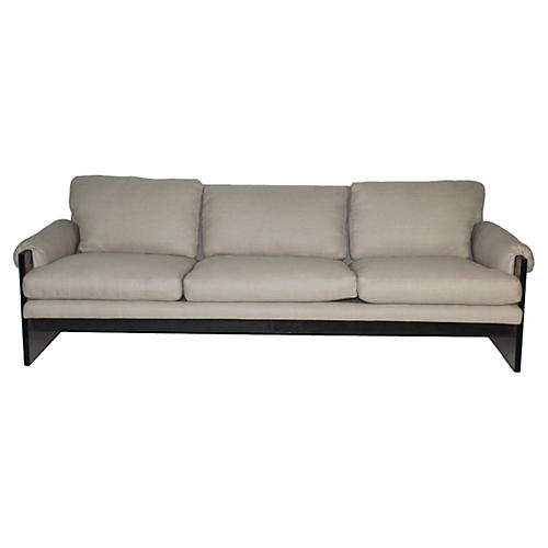Lucite Sofa Attri. to Milo Baughman