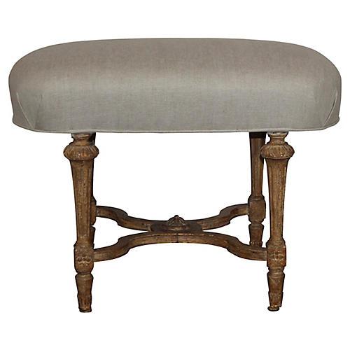 Louis XVI-Style Bench