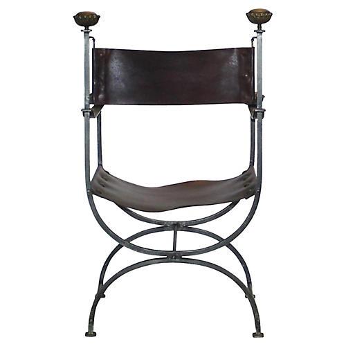Savonarola Accent Chair