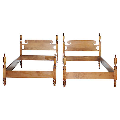 Twin Bed Frames, Pair