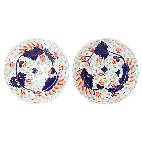 Georgian Mason Plates, S/2
