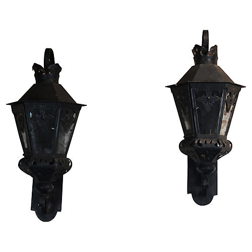 Pair of Wall Fixture