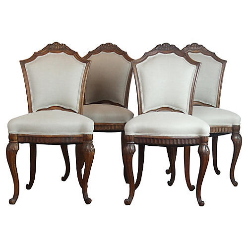 French Side Chairs, S/4