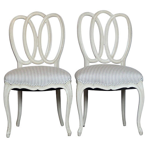Pair of Side Accent Chairs