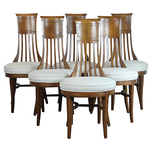 Biedermier Style Dining Chairs