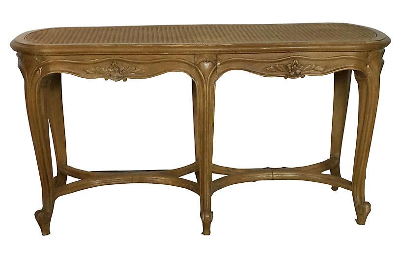 Louis XV-Style Bench