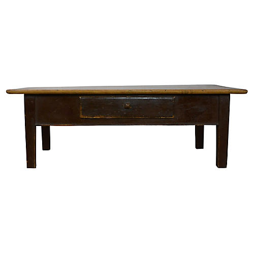 19th-C. French Coffee Table