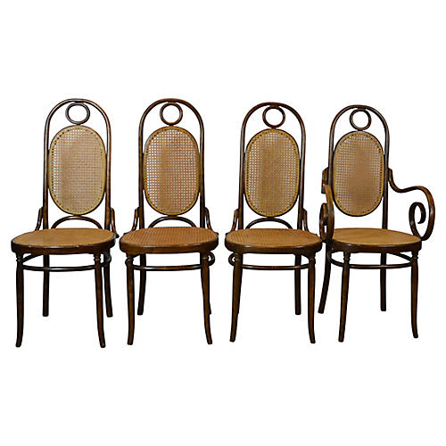 Bent Wood Dining Chairs
