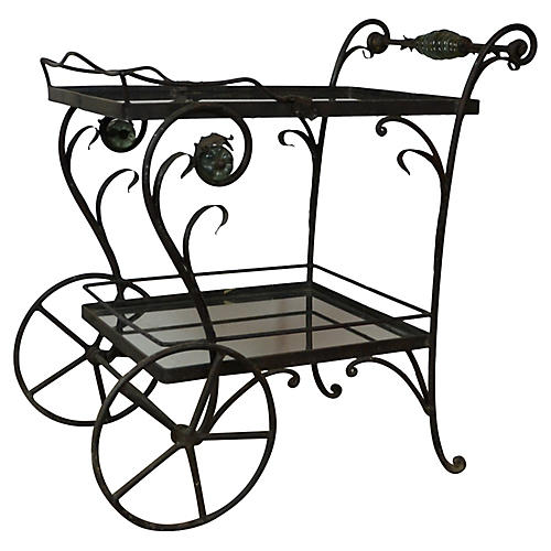 Iron Bar Cart