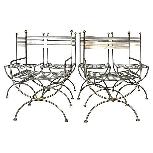 Savonarola Style Dining Chairs