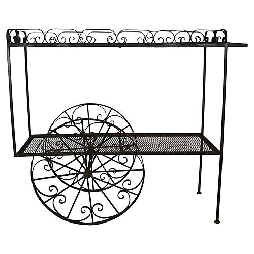 French Style Garden Cart