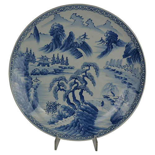 19th-C. Japanese Charger