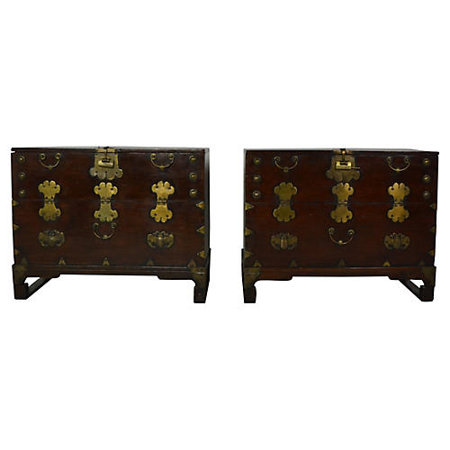 Asian Cabinets, S/2