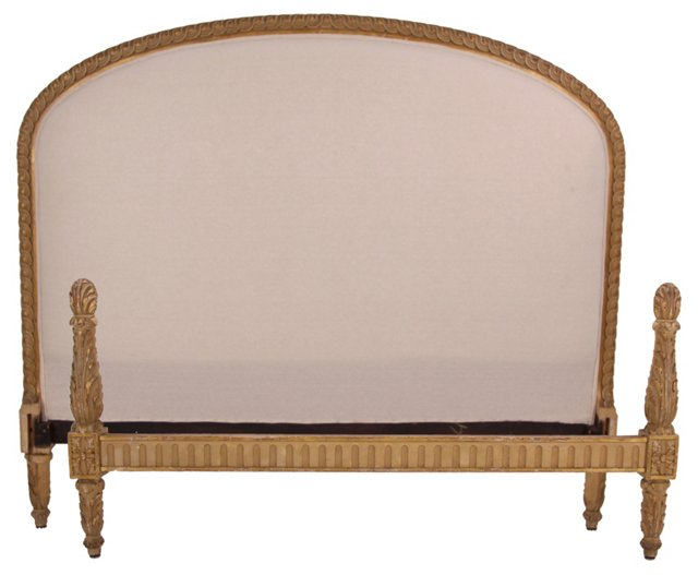 Late-19th-C. French Bed, Full