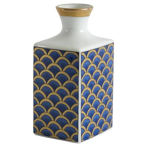 Asian Wave-Style Vase