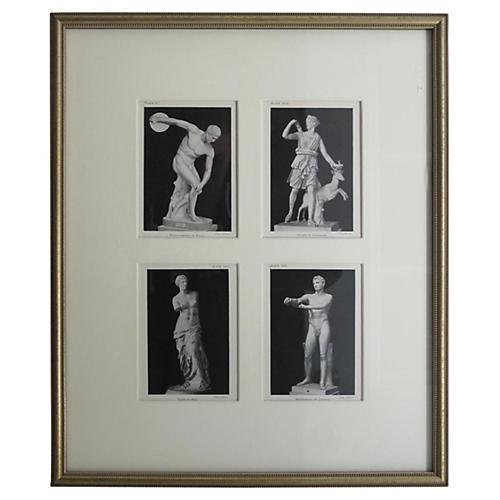 Roman Statue Quartet