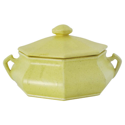 Yellow Soup Tureen
