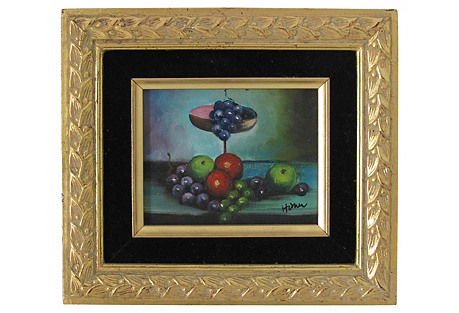 Fruits on Table by Homer