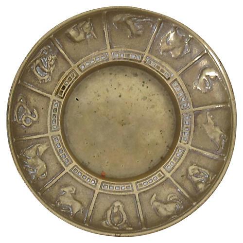 Brass Zodiac Catchall
