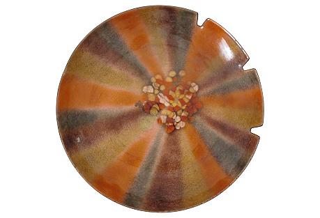 Orange Enamel Carchall