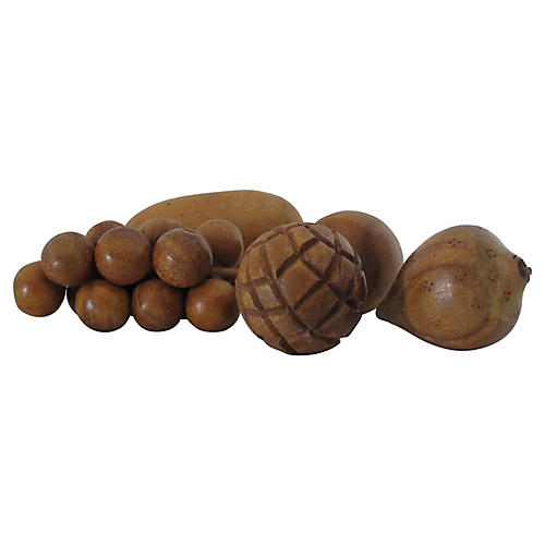 Wood Fruit, S/5