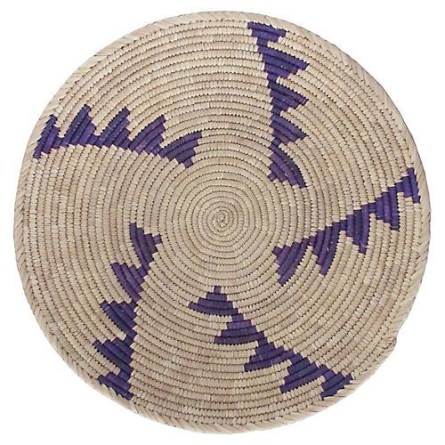 Purple Step Pattern Basket