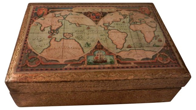 Florentine Map Box