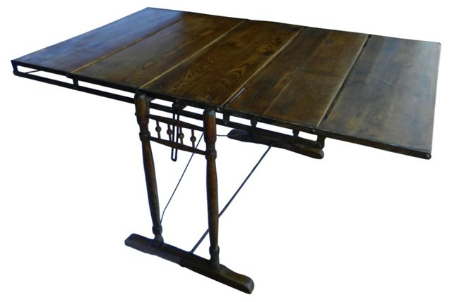 Antique Convertible   Table