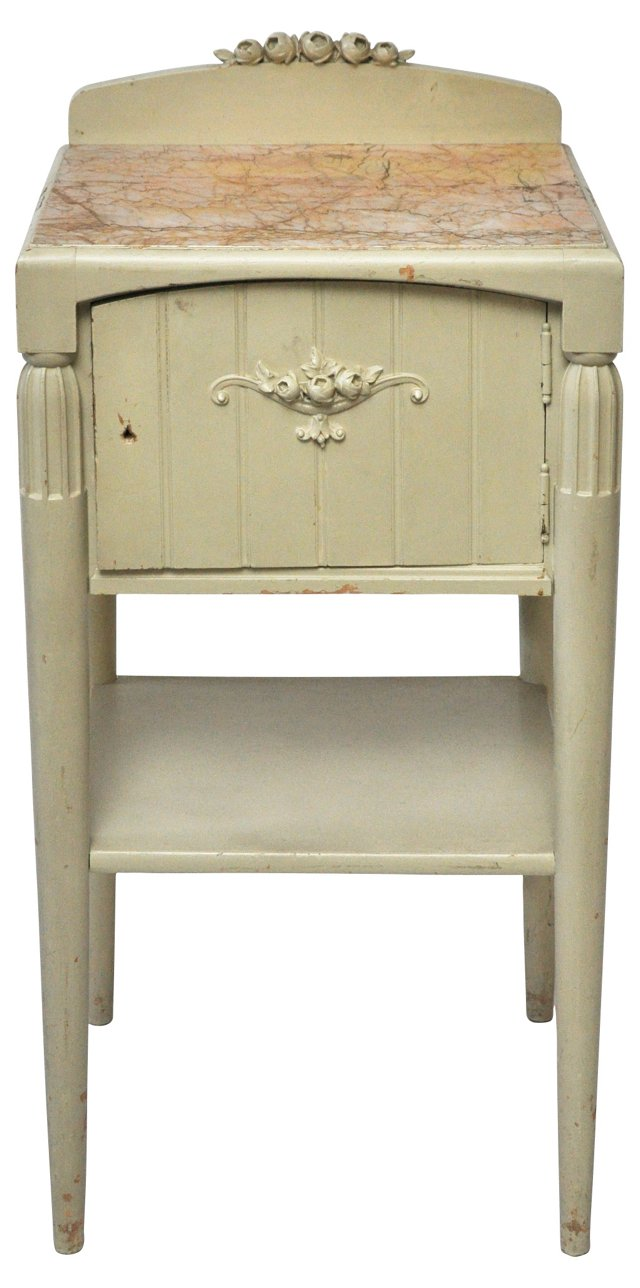 French Art Deco Bedside Table