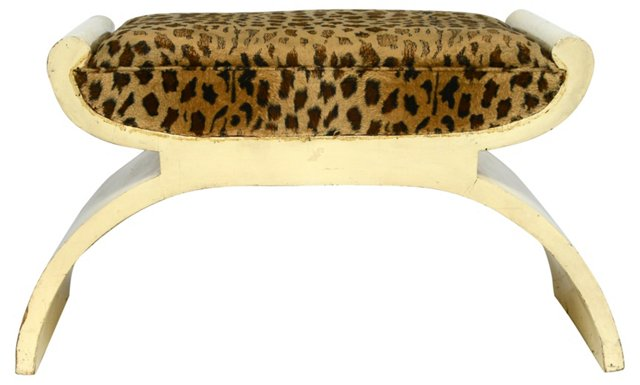 French  Art Deco Bench