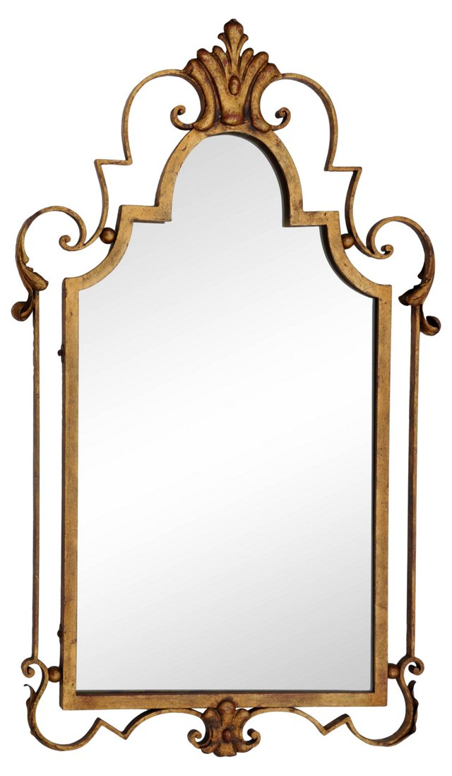 1940s French  Mirror