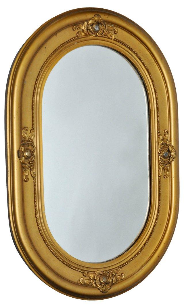 Oval Gilt  Mirror, C 1890