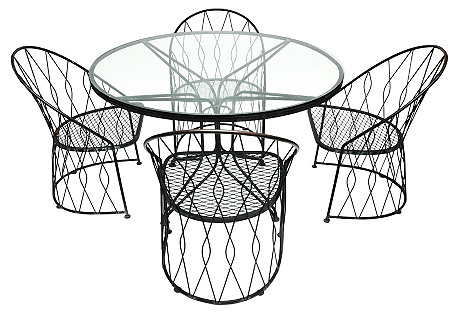 Salterini Table & 4 Chairs