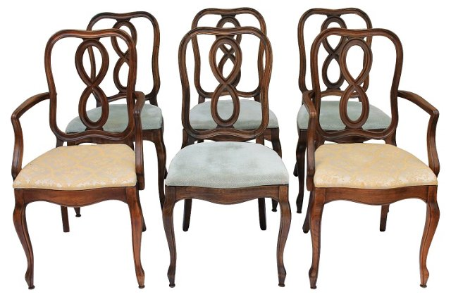 Thomasville  Dining Chairs, S/6