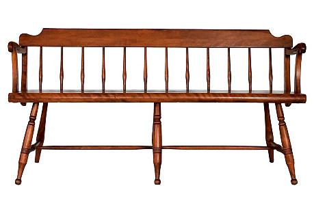 Spindle-Back Bench