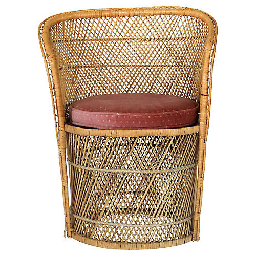 Bohemian Wicker Chair