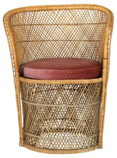 Bohemian Wicker Chair   Accent Chairs   Chairs   Living Room   Furniture |  One Kings Lane