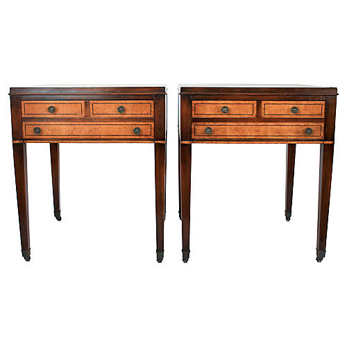 Federal-Style Side Tables, Pair