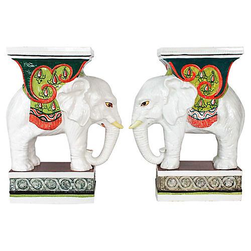 Italian Elephant Garden Seats