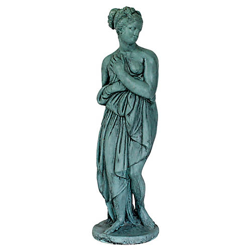 Female Cast Garden Statue