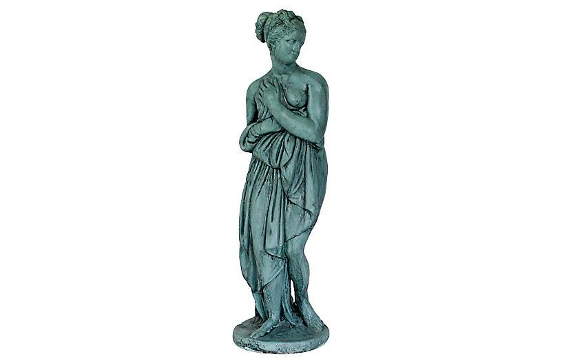 Female Cast Garden Statue