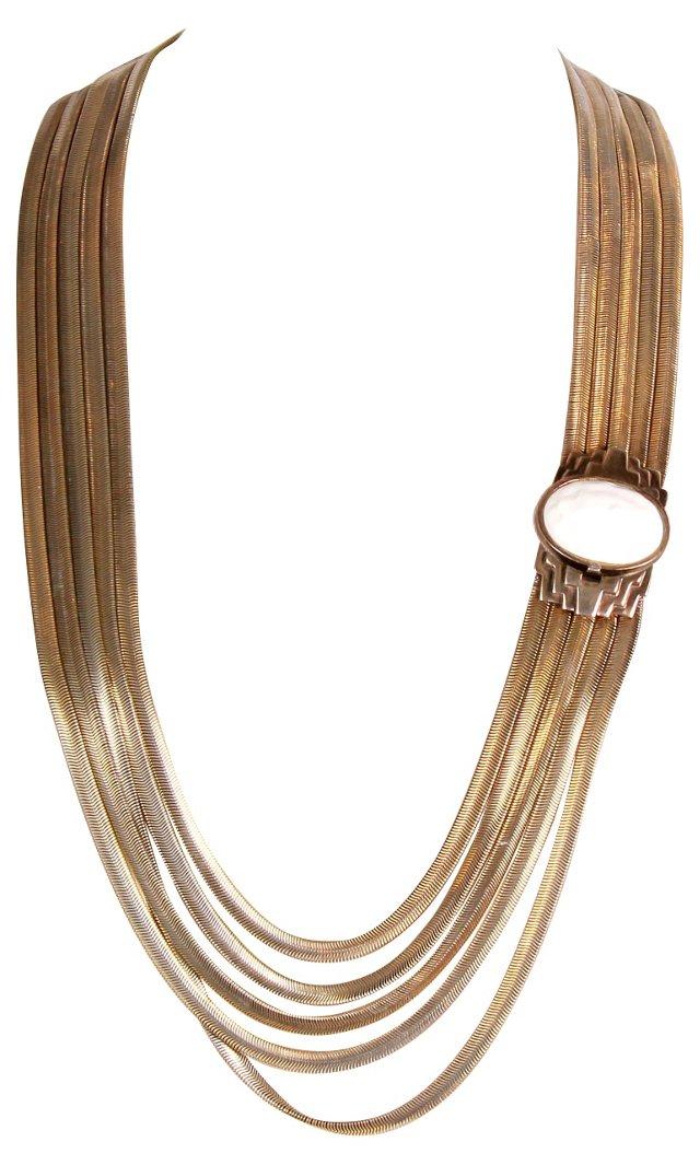 Les Bernard Snake Chain Necklace