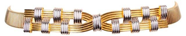 Accessocraft Metal Stretch Belt