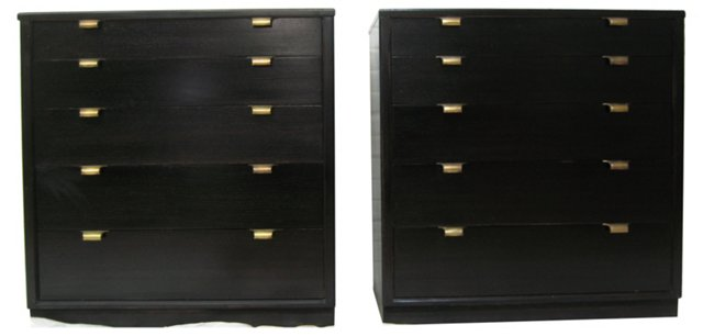 Ed Wormley Bachelor's Chests, Pair